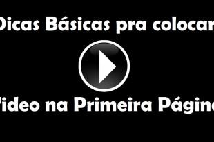 Dicas Básica pra Colocar os seus Videos na 1ª Página do YouTube