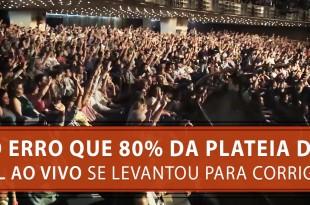 O Erro que 80% da plateia do FL Ao Vivo se Levantou para Corrigir | Érico Rocha