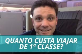 Quanto Custa Viajar de 1ª Classe?   Erico Rocha