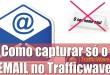 Como capturar somente campo EMAIL no Trafficwave