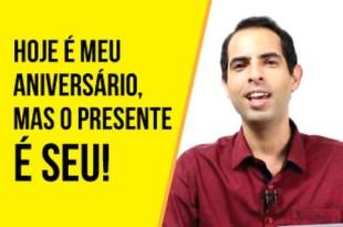 Hoje é meu aniversário, mas o presente é seu!   Felipe Pereira   Digaí Insights