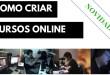 Como montar um curso online (em 4 passos SIMPLES)