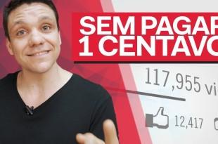 COMO FAZER O YOUTUBE TE DIVULGAR SEM PAGAR 1 CENTAVO | SACADAS #1 | ERICO ROCHA