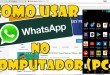 Como usar o Whatsapp no computador (PC) ou Notebook Super fácil e Rápido
