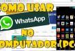 Como usar o Whatsapp no computador (PC) ou Notebook Super fácil e Rápido