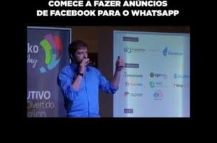 Comece a criar anúncios de Facebook para WhatsApp