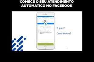 Como funciona um atendimento automático no Facebook?