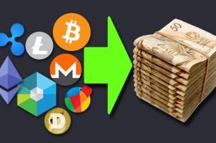 Como Transformar Suas Criptomoedas Altcoins em Dinheiro / Reais