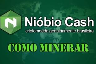 Nióbio Cash – Criptomoeda Brasileira – Como Minerar