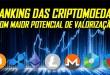 Ranking das Criptomoedas com Maior Potencial de Valorização – A Ferramenta Está Pronta!