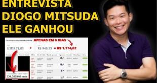 Ele Ganhou R$ 1.174,62 em APENAS 6 DIAS na Internet – Entrevista com Diogo Mitsuda